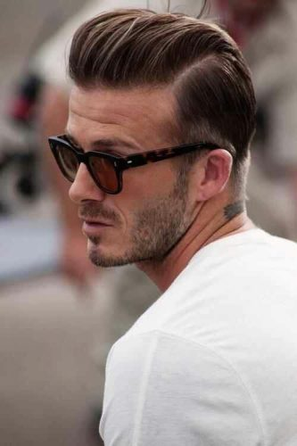 Retro Pompadour for thin hair - balding men