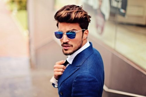 The Pompadour-Older Men Hairstyles