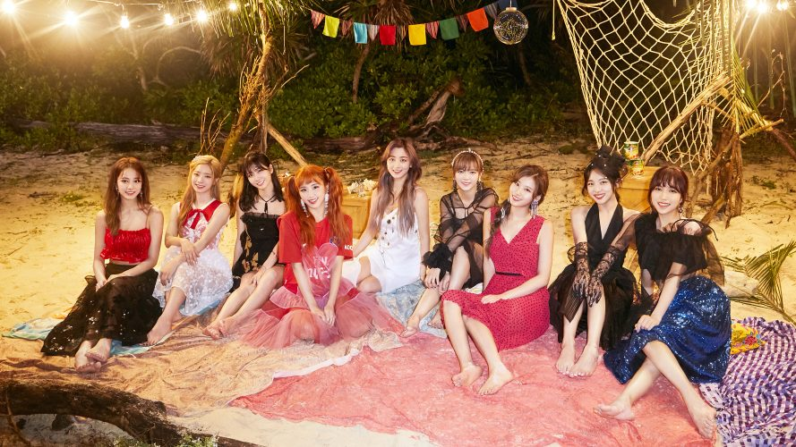 TWICE - popular Kpop girl groups