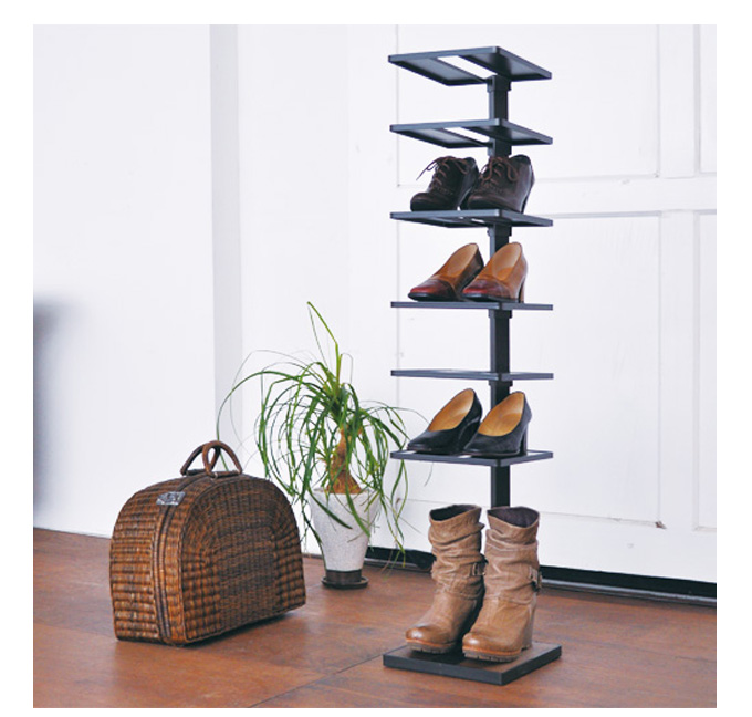 25 of the best space saving design ideas for small houses fantastic88 - Shoe rack for small space set ...