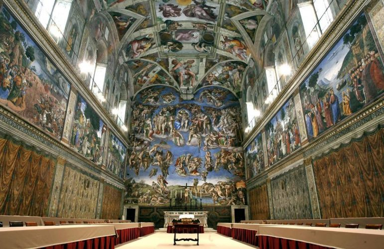 Sistine Chapel - top historical sites