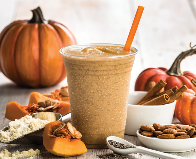 Pumpkin Juice - refreshing smoothie recipes