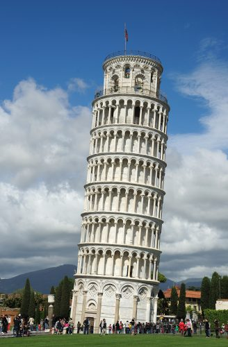 Learning Tower of Pisa, Italy - top historical sites
