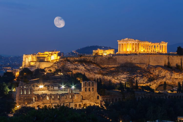 Acropolis - top historical sites