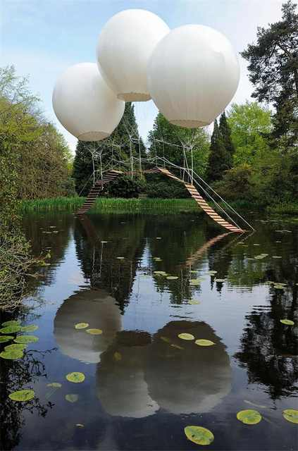 Balloon Bridge, UK - Most Stunning Bridges
