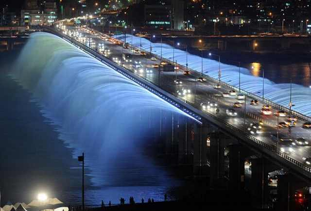 The Banpo Bridge, South Korea - Most Stunning Bridges
