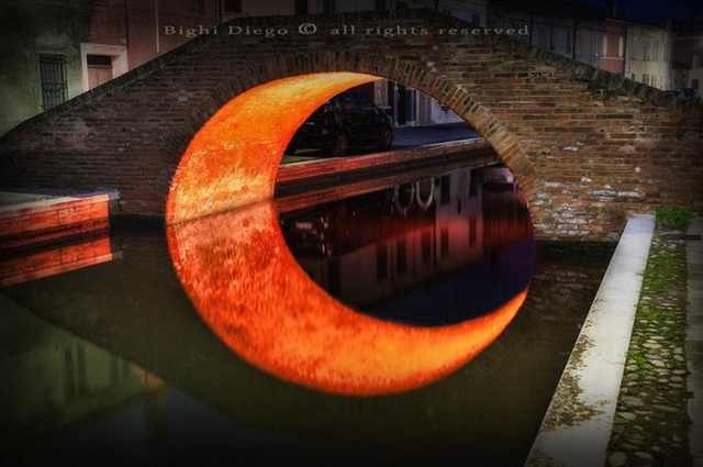 Moon Bridge, Ferrara, Italy - Most Stunning Bridges