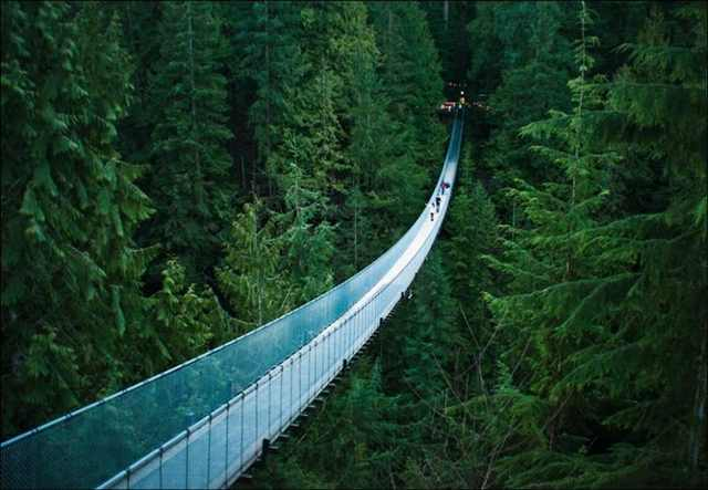 Capilano Suspension Bridge, Vancouver, Canada - Most Stunning Bridges