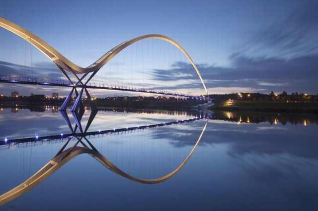 Infinity Bridge, Stockton-on-Tees, United Kingdom - Most Stunning Bridges