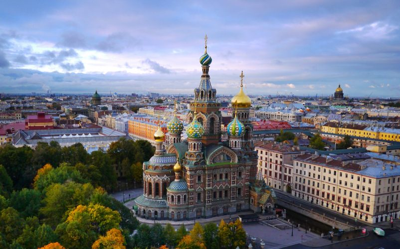 St. Petersburg, Russia - top historical sites