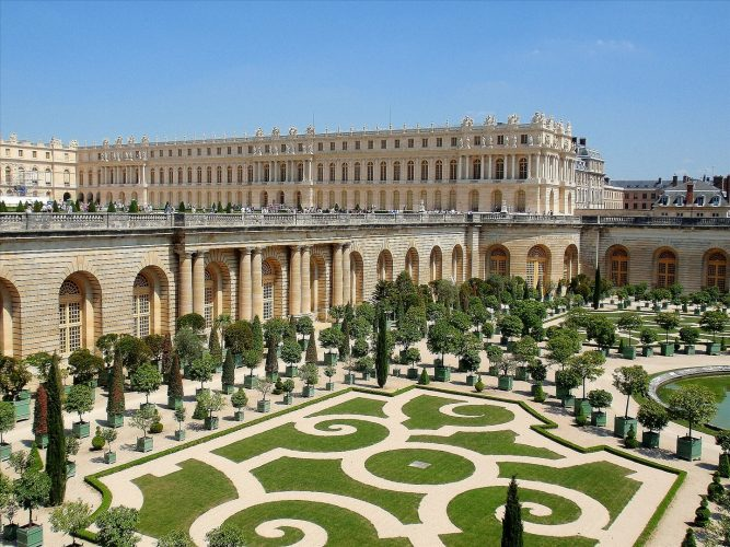 Versailles Palace, France - top historical sites