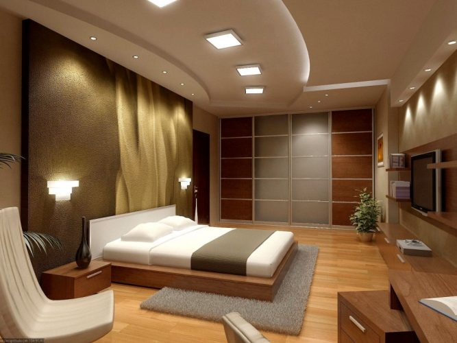 Your own suite - modern contemporary masculine bedroom