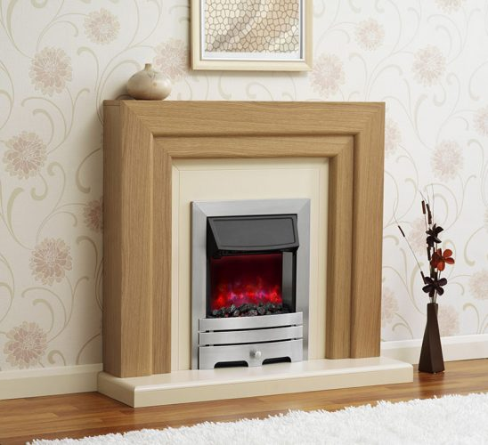 Oven like fireplace-Flat screen fireplace