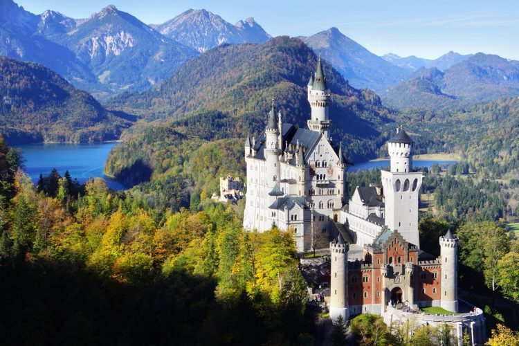 Neuschwanstein Castle, Germany - top historical sites