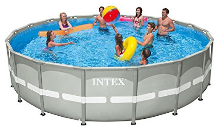 Intex 18ft X 48in Ultra Frame Pool Set with Cartridge Filter Pump