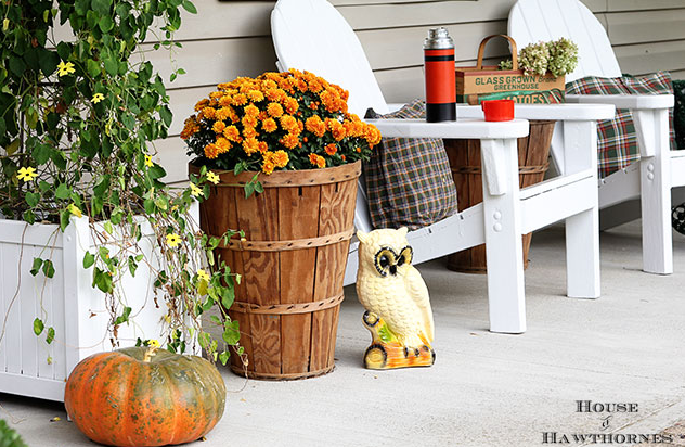 The vintage motives - fall decorating ideas