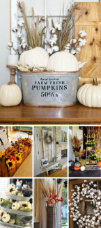 Fall accessories and decorations - fall decorating ideas