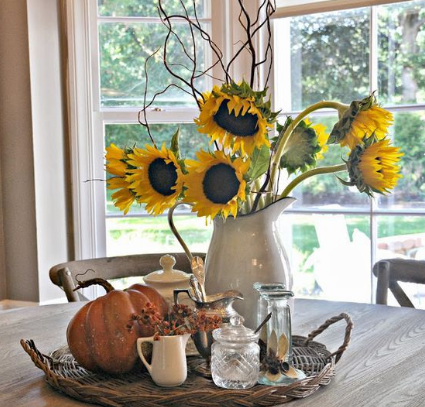Calm and serenity - fall decorating ideas