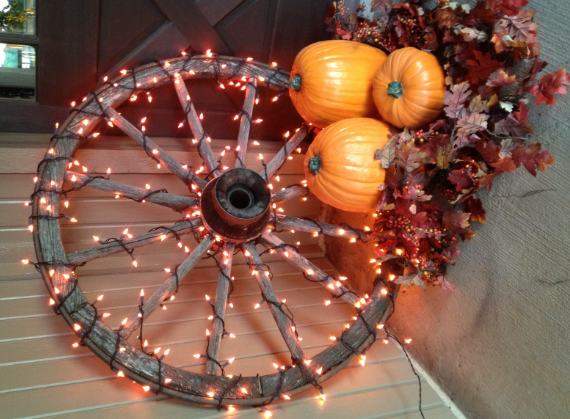 The happy fall motive - fall decorating ideas