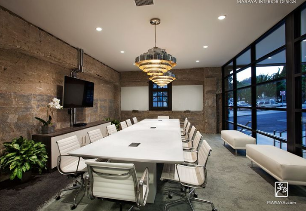 The modern open space - modern conference room design ideas