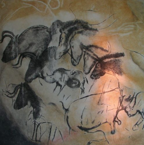 Chauvet cave paintings (c 30, 000 years ago) - most famous paintings