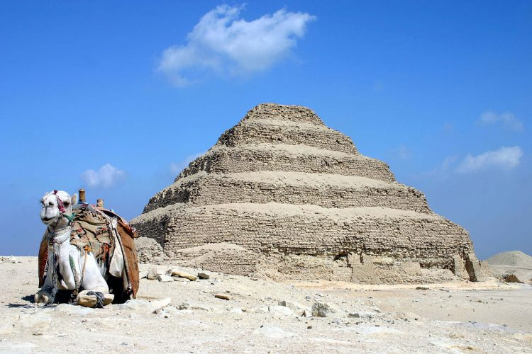 Pyramid of Djoser, Egypt - oldest buildings