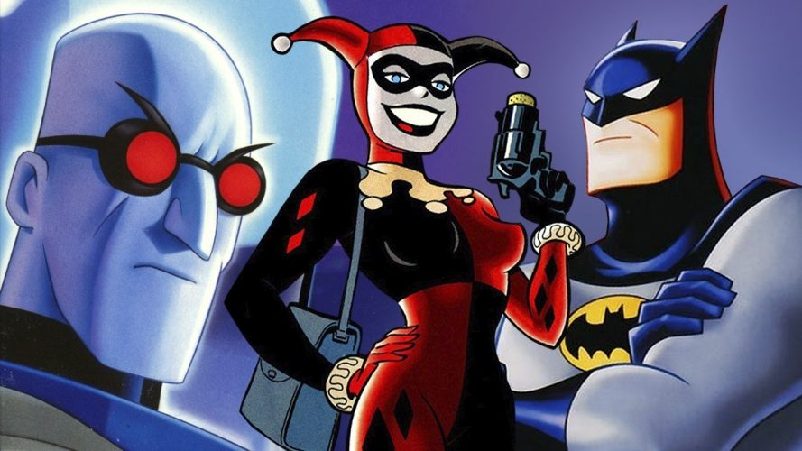 Batman: The Animated Series - popular cartoons in the 90s