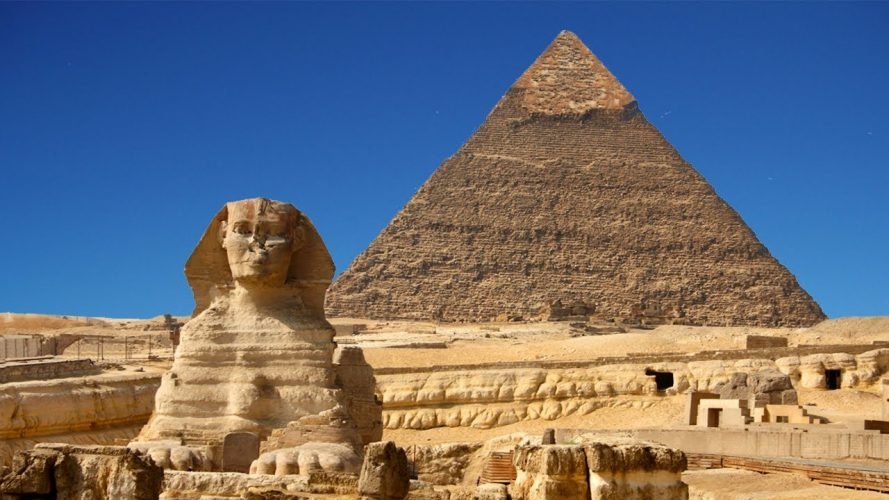 Great Pyramid of Giza, Egypt - oldest buildings