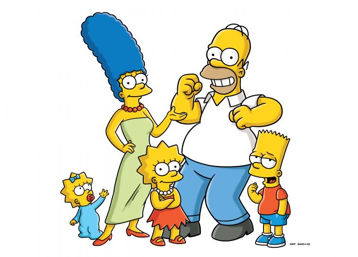 The Simpsons - popular cartoons in the 90s