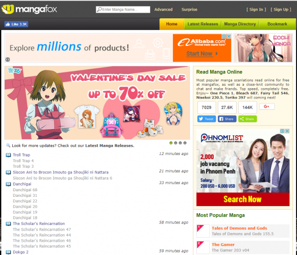 Manga Online Reads: Top 10 Websites To Read Manga Online Free