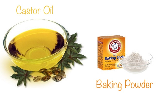 Using baking powder and castor oil - how to remove skin tags safely the natural ways
