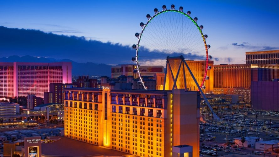 The High Roller, Las Vegas, Nevada - biggest and amazing ferris wheels