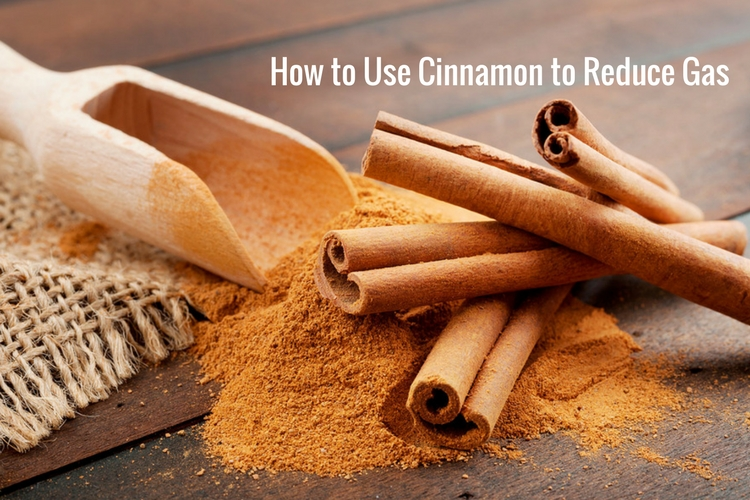 Cinnamon - relieve gas pains fast