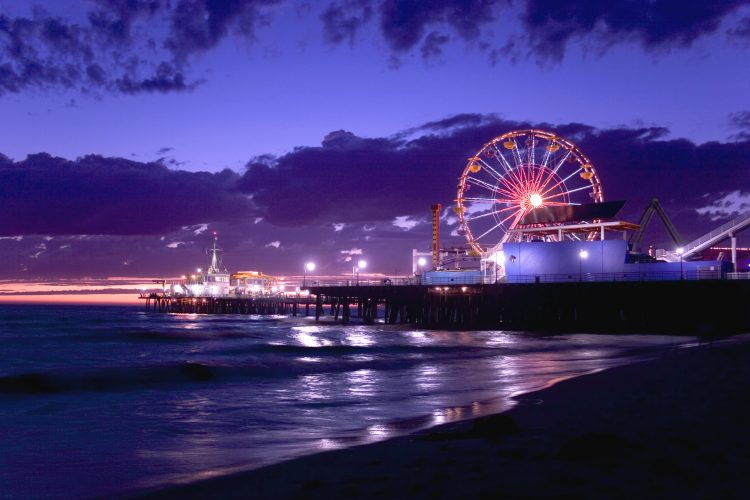 Pacific Park Wheel, Santa Monica, California - biggest and amazing ferris wheels