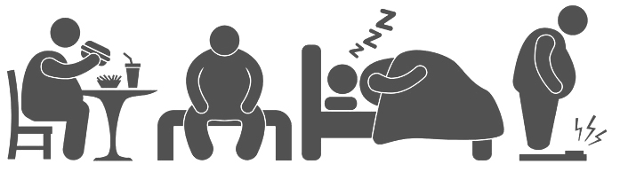 Avoid Sedentary lifestyle - getting rid of bags under the eyes