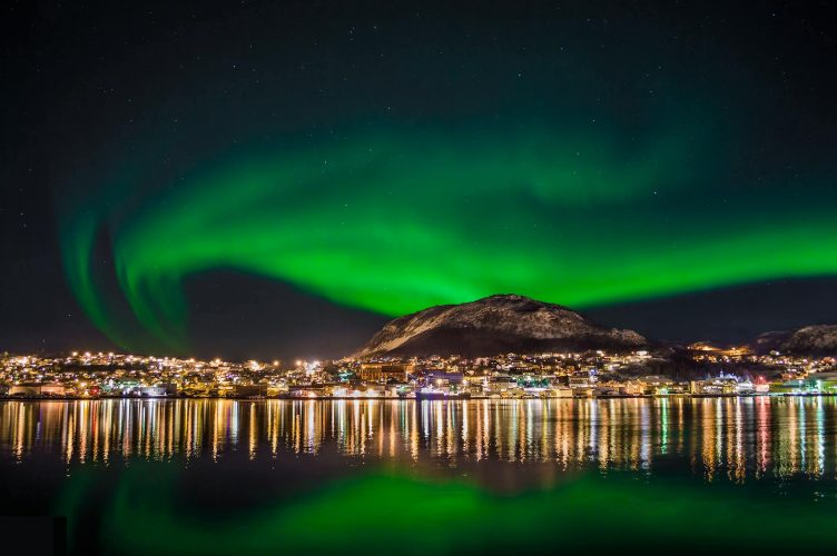 Norway - destinations for aurora borealis or northern lights