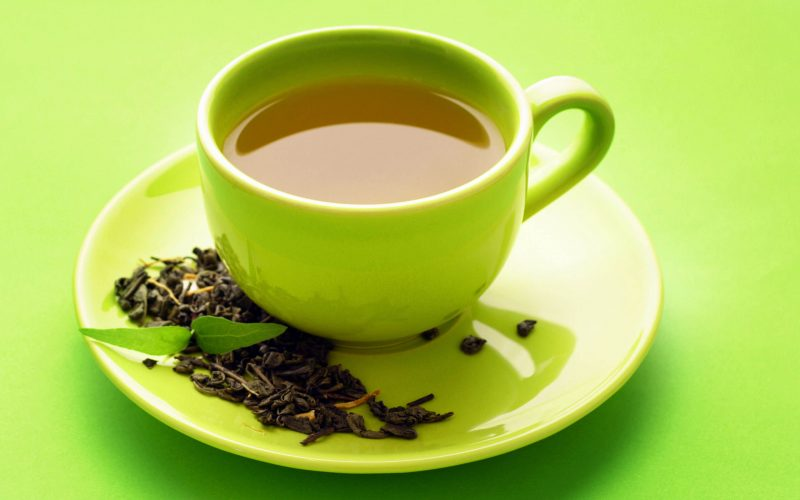 Green tea - stay young naturally