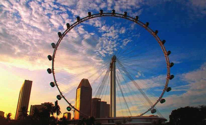 Singapore Flyer, Singapore - biggest and amazing ferris wheels