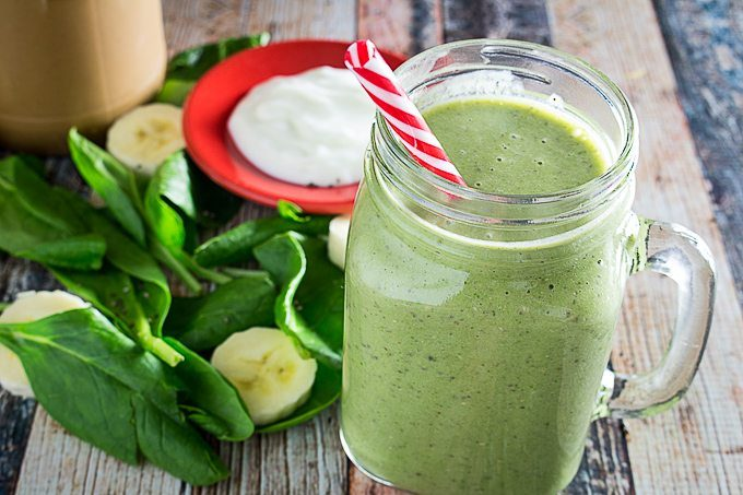 Classic Monster Green Smoothie - Smoothie Recipes for Quick Weight Loss