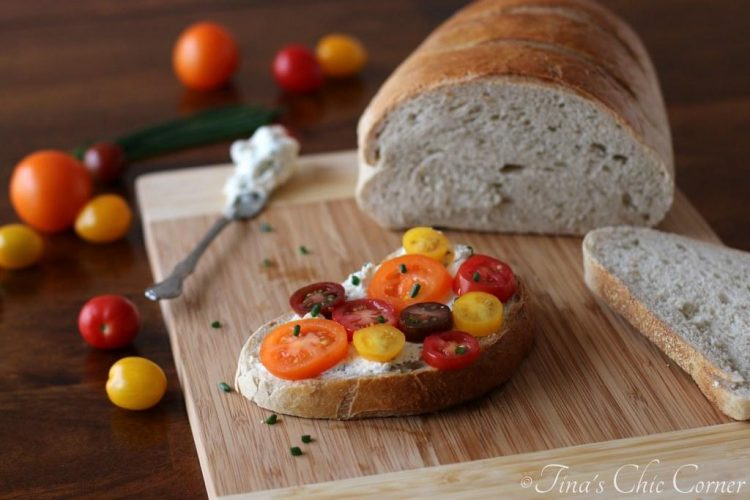 Herbed Tomato & Cheese Sandwich