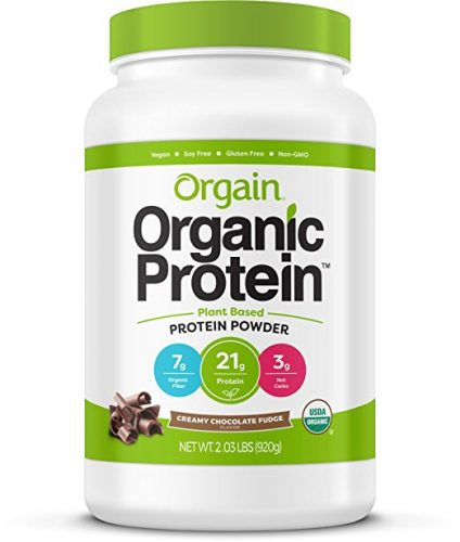 Orgain Organic Plant Based Protein Powder - Protein Powers For Women