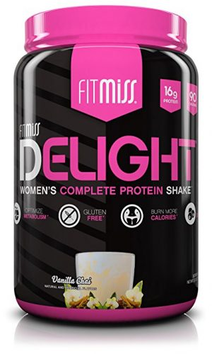 FitMiss Delight Protein Powder - Protein Powers For Women
