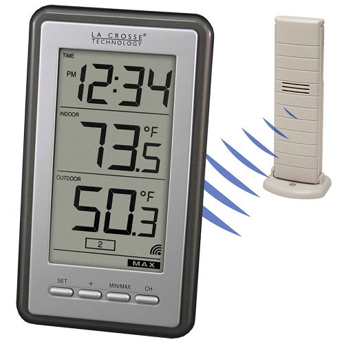 La Crosse Technology WS-9160U-IT-INT Digital Thermometer - Best Outdoor Thermometers