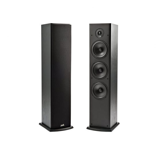 Polk Audio T50 Home Theater and Music Floor Standing Tower Speaker - Best Floor Speakers