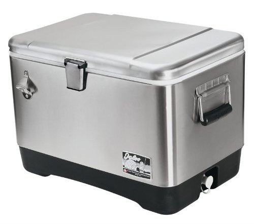 Igloo Stainless Steel 54 quart Cooler - Beverage Coolers