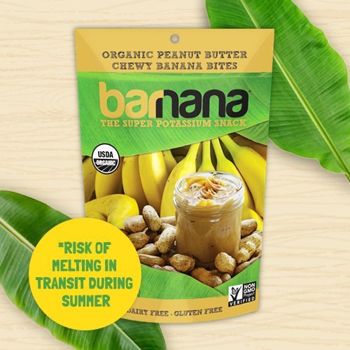 Barnana Chewy Peanut Butter Bites - Delicious Snacks For Kids