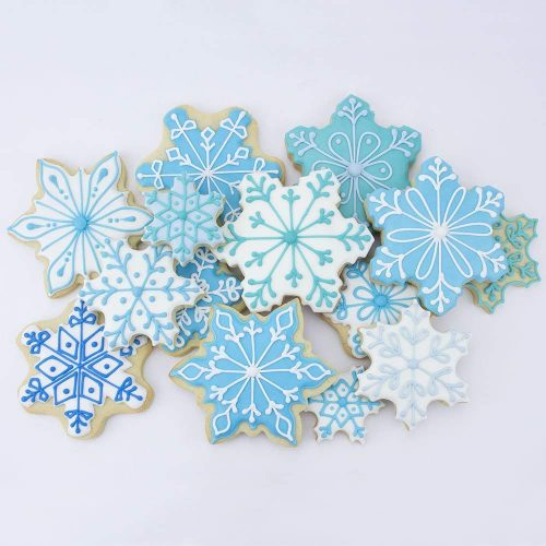 Winter Snowflake Cookie Cutter - Christmas Cookie Cutters