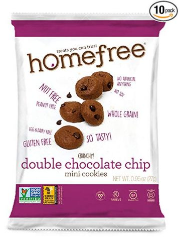 Homefree Double Chocolate Chip Cookie - Delicious Snacks For Kids