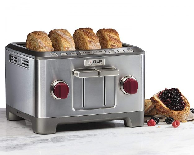 Wolf Gourmet (WGTR104S) - Hot Toasters