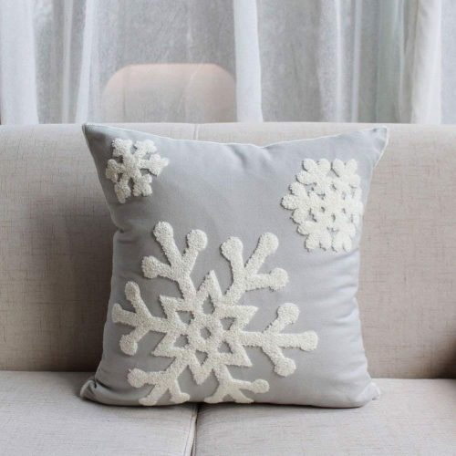 E.life Soft Square Style Cushion Cover - Christmas Pillow Covers